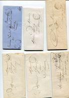 NIEVRE De CORBIGNY 9 LAC Et 2 Env. Avec Taxe 25 Et 30 ( 2 Scans) - Postmark Collection (Covers)