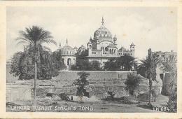 Runjit Singh's Tomb - Lahore (Pakistan) - Edition D. Macropolo & Co, Calcutta - Carte Non Circulée - Pakistan