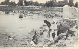 Catéchistes Missionnaires De Marie-Immaculé, Nagpur (Hindoustan) Au Bord De L'Etang Sacré, Chindwara, Carte Non Circulée - Missions