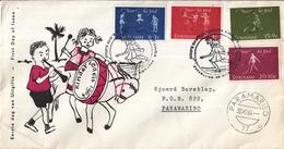 Suriname - FDC E32 - Kinderzegels - NVPH 414 - 417 - Suriname ... - 1975