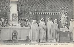 Catéchistes Missionnaires De Marie-Immaculé, Nagpur (Hindoustan) Après La Procession, Carte Non Circulée - Missions