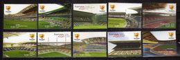 Portugal 2004 European Football Championship, Portugal - Stadiums. MNH - 1910-... République