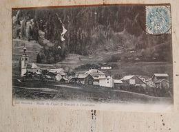 74 - CPA LES HOUCHES - Route Du Fayet-St Gervais à Chamonix - Les Houches