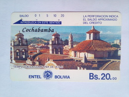 Bs 20 Cochabomba - Bolivia