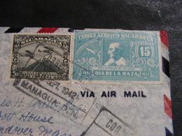 Nicaragua , Managua 1942 Censor Cv. US - Nicaragua