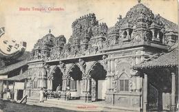Sri Lanka (Ceylon, Ceylan) - Hindu Temple, Colombo - Skeen-photo - Sri Lanka (Ceylon)