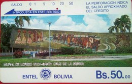 Bs 50 Mural - Bolivia