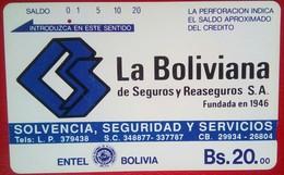 Bs 20 La Boliviana - Bolivia