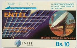 Bs 10 Satellite Dish - Bolivia