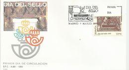 España. 1994. Día Del Sello Y Micología. - FDC