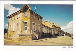 54------RARE----VALLEROY--la Poste, La Mairie, L'école--voir 2 Scans - Autres Communes