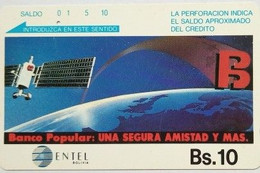 Bs 10 Banco Popular - Bolivia