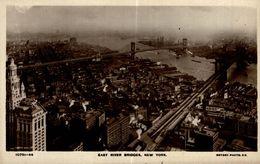 EAST RIVER BRIDGES NEW YORK - Ponts & Tunnels