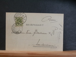 74/408  BRIEFKAART     NED.  1907 - Periode 1891-1948 (Wilhelmina)