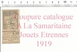 Petite Coupure De 1919 Album Bécassine Mobilisée 216PPF-SAM - Vieux Papiers