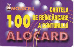 Moldova , Moldavie , Moldau , Old Prepaid Phonecards - Moldcell , 2002 , 100 Units ,  Paper , Used - Moldova