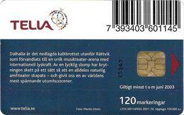 TÉLÉCARTE  PHONECARD TARJETA  SUEDE  TELIA  10//019 150.000 EX - Suède