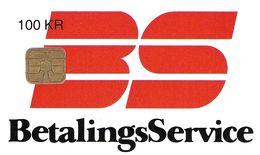 TÉLÉCARTE  PHONECARD TARJETA  DANEMARK BETALONGS SERVICE 09/95 - Danemark