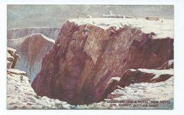 Celesque. Ben Nevis Artist Painting Unsigned. Unposted Photochrom - Scotland