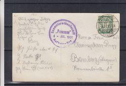 Allemagne - Dantzig - Carte Postale De 1931 - Oblit Zoppot - Oblit Bateau Seemotorschnellschiff Preussen - Danzig