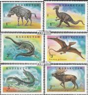 Kasachstan 62-67 (kompl.Ausg.) Postfrisch 1994 Prähistorische Tiere - Kasachstan