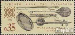 Turkmenistan 10 (kompl.Ausg.) Postfrisch 1992 Musikinstrumente - Turkmenistan
