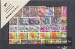 Peninsular Malaysia Federation 50 Different Stamps  Malaya/Malaysia/Singapore - Stamps