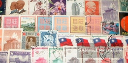 China-taiwan 50 Different Stamps - Collections, Lots & Séries