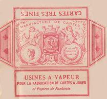 Jeu De 32 Cartes à Jouer Vers 1910 PAGNOUL JANSEN à VERVIERS Chaussures Au Saint Nicolas - Group Games, Parlour Games