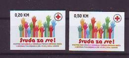 BiH Bosnia 2016 Y Charity Stamp Red Cross  Mi No 36 Selfadhesive MNH - Bosnia Erzegovina