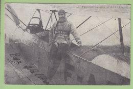 La Parachutiste EVA WALTERS, Autographe Manuscrit. 2 Scans. Edition ? - Parachutisme