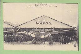 Lyon Aviation : LATHAM, Monoplan Antoinette, Au Départ. 2 Scans. Edition Farges - Aviatori