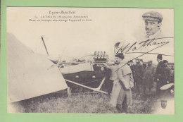 Lyon Aviation : LATHAM, Dans Un Brusque Attérissage L'Appareil Se Brise. 2 Scans. Edition Farges - Aviatori