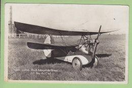 Un POU DU CIEL , Lyon Port Aérien De Bron. 2 Scans. Edition La Cigogne - 1919-1938: Entre Guerres