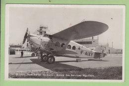 Lyon Port Aérien De Bron : Avions Des Services Réguliers. 2 Scans. Edition La Cigogne - 1919-1938: Entre Guerres