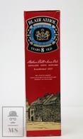 Empty Vintage Blair Athol 8 Years Old Pure Malt Scotch Whisky Presentation Box - Otras Colecciones