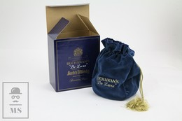 Empty Vintage Buchanan's De Luxe Finest Blended Scotch Whisky Presentation Box - Otros