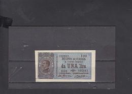ITALIA  1917 - Unificato  11 - Buono Di Cassa - SPL - Italia – 1 Lira