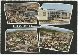 57) NILVANGE : Multi-vues  - Usines De St-Jacques, Vues Générales, Hôtel De Ville - Other Municipalities