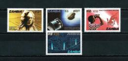 Zambia  Nº Yvert  412/15 (sobrecarga)  En Nuevo - Zambia (1965-...)