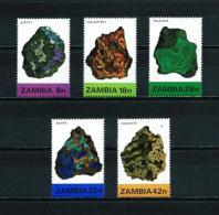 Zambia  Nº Yvert  262/6  En Nuevo - Zambia (1965-...)