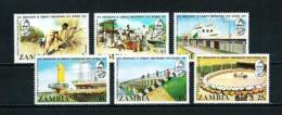 Zambia  Nº Yvert  119/24  En Nuevo - Zambia (1965-...)
