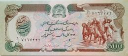 AFGHANISTAN 500 AFGHANIS 1990 PICK 60b UNC - Afghanistan