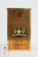 Empty Vintage The Balvenie Classic Highland Malt Scotch Whisky Presentation Box - Otros