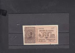 ITALIA  1921 - Unificato  24 - SPL  - Buono Di Cassa - [ 1] …-1946 : Koninkrijk