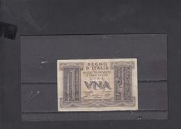 ITALIA  1939 - Unificato  1 - B - - [ 1] …-1946 : Kingdom
