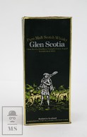 Empty Vintage Glen Scotia Pure Malt Scotch Whisky Presentation Box - Otras Colecciones