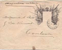 Lettre Correspondance Militaire Tresor Et Postes 96 Byrrh Vin Tonique - Marcofilia (sobres)