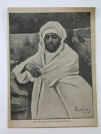 1906 Spanish Magazine - Abdelaziz Morocco Sultan, Infanta Maria Teresa Of Spain With Prince Ferdinand Of Bavaria - Magazines & Newspapers
