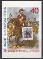 Berlin 1980 Friedrich Wilhelm Von Stauben 1v Maxicard (37445) - [5] Berlijn